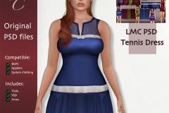 LMC-PSD-Tennis-Dress-BOM
