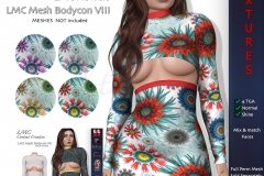 LMC-TGA-Bodycon-VIII-FLowers