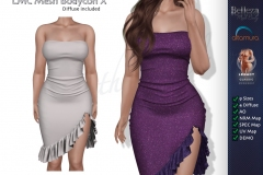 LMC-Mesh-Bodycon-X