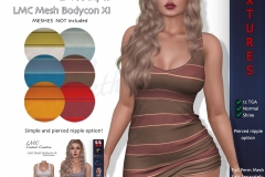 LMC-TGA-Bodycon-XI-Stripes